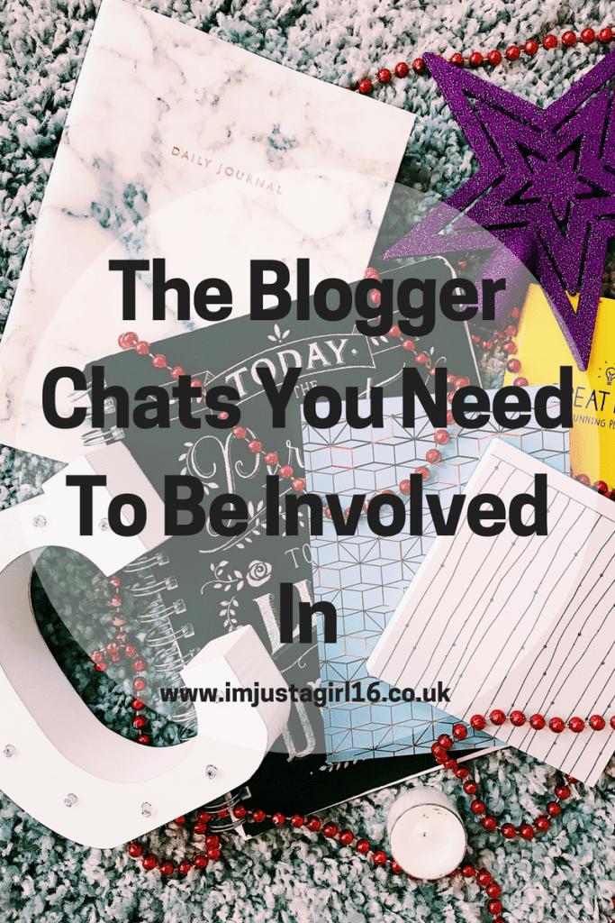 blogger chats