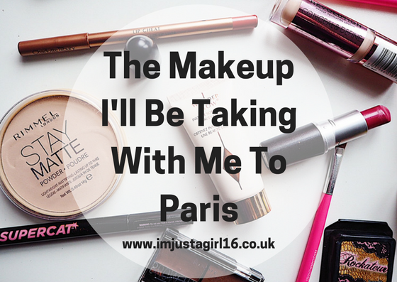 The Makeup I'll Be Taking With Me To Paris