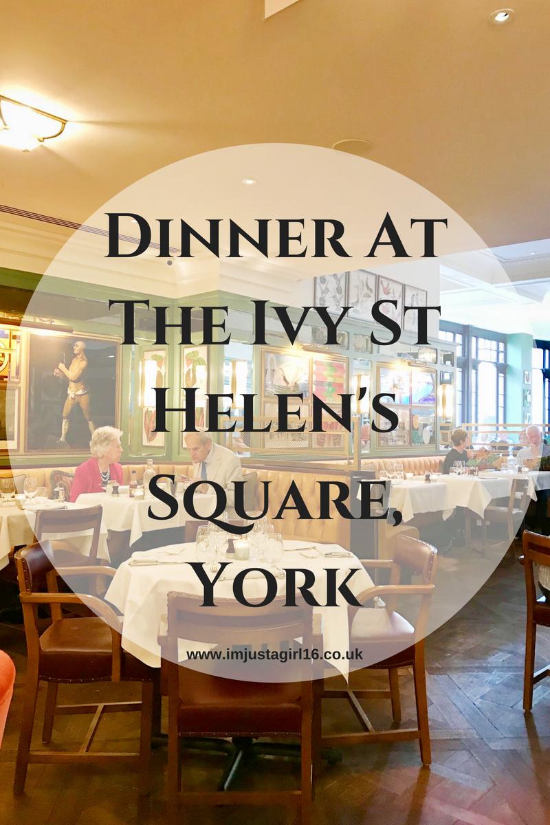 Ivy St Helen's Square, York