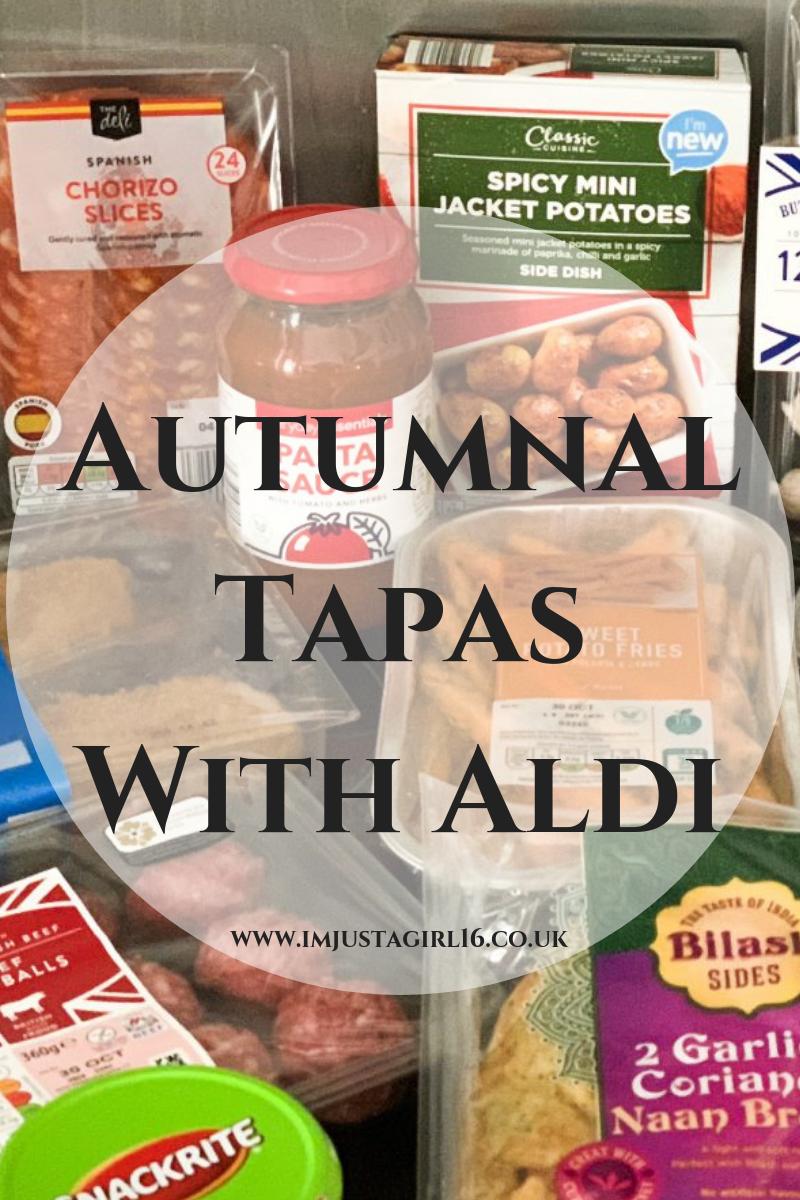 Autumnal Tapas With Aldi
