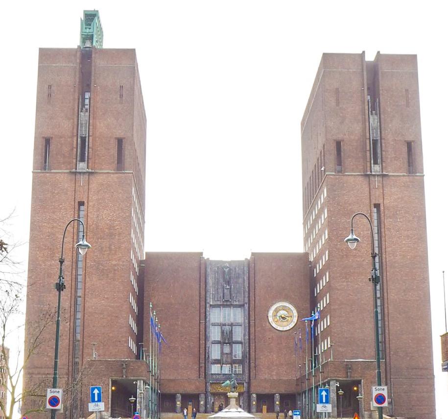 4 days in oslo - city hall oslo