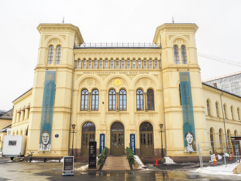 4 days in oslo - nobel peace prize center oslo