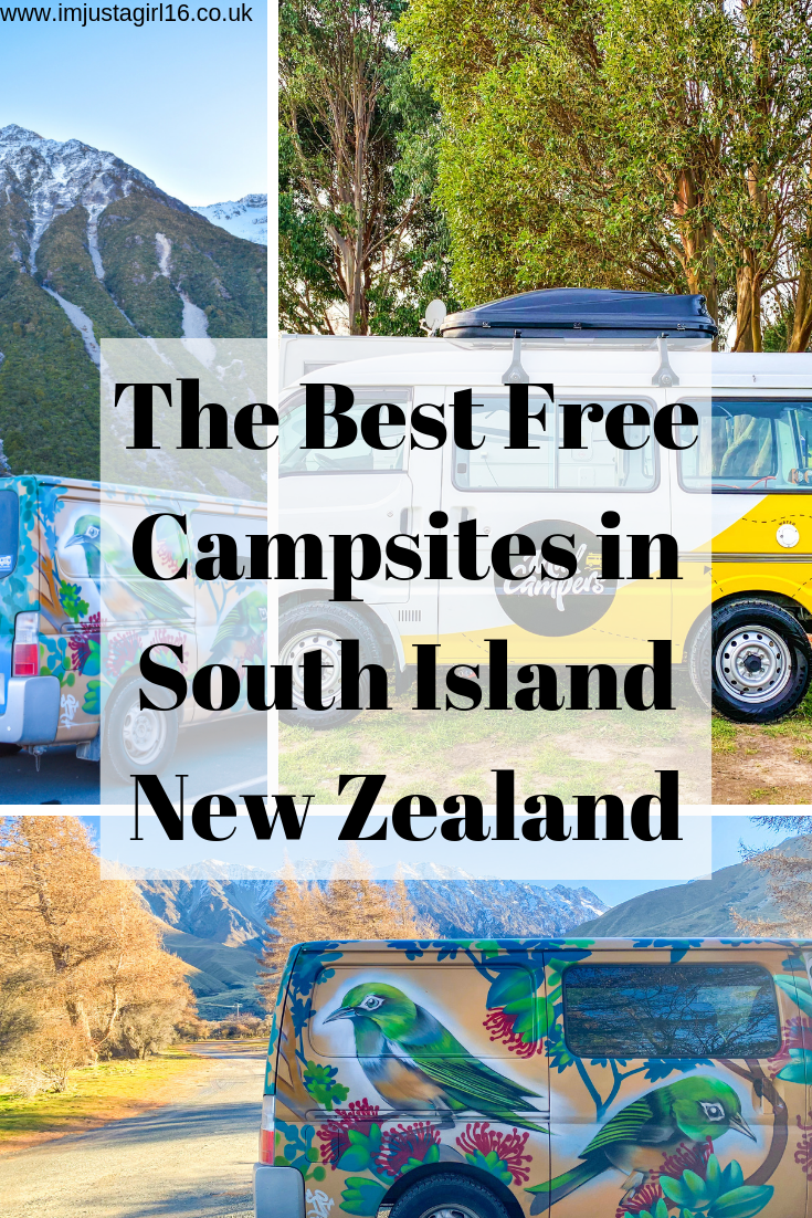 The Best Free Campsites In South Island New Zealand | I'm